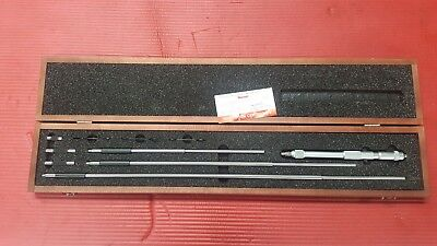 Starrett Inside Micrometer Model 124cz Range 8-32 Inch Machinist Tools