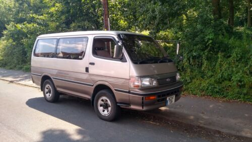 Image of TOYOTA HIACE SUPER CUSTOM OFFROAD 4 X 4 DAY VAN, PEOPLE CARRIER / CAMPER / STEAL
