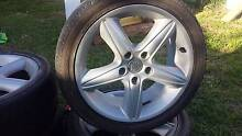 Holden Monaro rims and tyres Newcastle 2300 Newcastle Area Preview