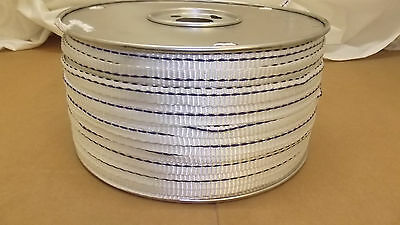 58 X 500 1800 Tensile Polyester Detectable Pull Tape Mule Tape Webbing