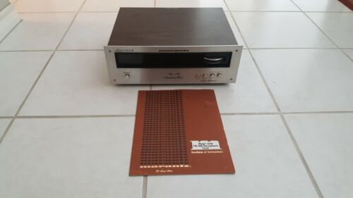 Marantz 105B AM/FM Stereophonic  Tuner With Original Manual