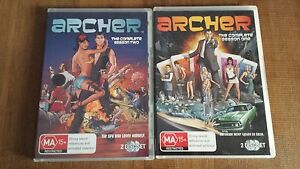 DVDs - ARCHER - funny tv series Penrith Penrith Area Preview