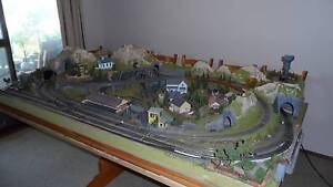 Noch 81550 HO Layout 2000 X 1200 for Model Trains Hornby Lima Raby Campbelltown Area Preview