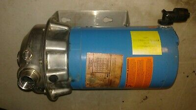 Goulds 1st1f2b5 Stainless Steel End Suction Centrifugal Pump