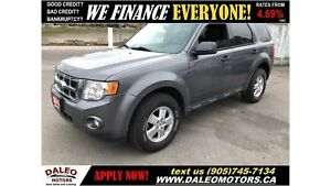 2012 Ford Escape XLT | 3.0 6CYL| LEATHER | BLUETOOTH|