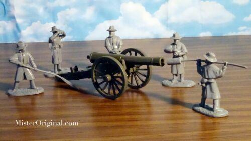 Armies in Plastic Civil War Confederate Artillery Siege Gun 30-pounder 54mm