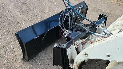 New Heavy Duty 6 Foot Six Way Dozer Blade For Skid Steer Also Snow Plow