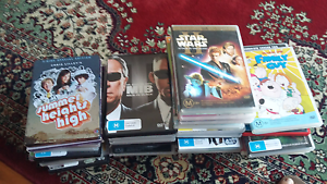 Mixed dvds Swansea Lake Macquarie Area Preview