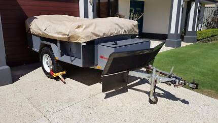Soft Top Camper Trailer and Boat for Sale/Swap