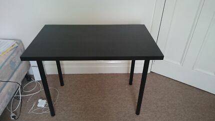 Black Study Desk Hawthorn Mitcham Area Preview