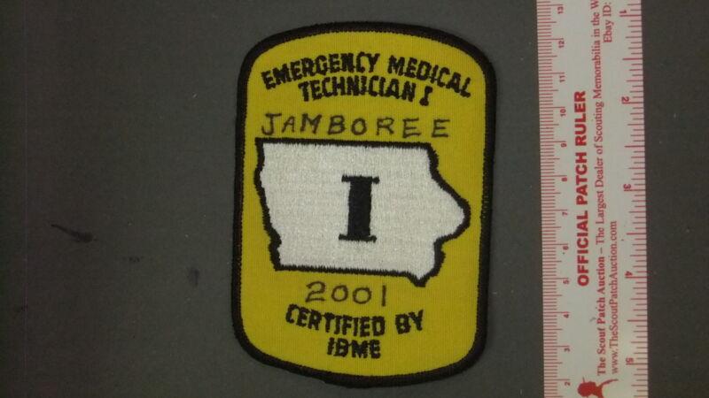 Boy Scout National Jamboree 2001 EMT Medical Staff 6573II