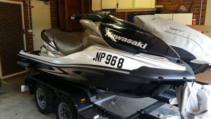 Kawasaki 260lx supercharged jetski