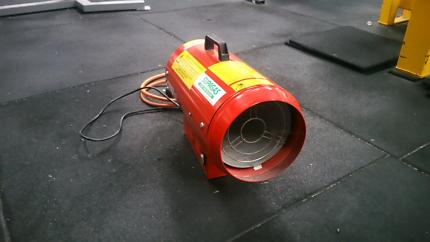 Portable gas jet heater