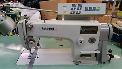 Brother Needle Feed Programmable Industrial Sewing Machine Db2-8791-415 110 V.