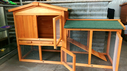 ♥🐇Double story hutch run 1400L rabbits GUINEA PIGS package deals