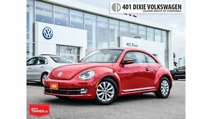 2015 Volkswagen Beetle Comfortline 1.8T 6sp at w/ Tip 1 Owner. N