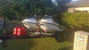 Yamaha XLT 1200 Wave Runner Jet Skis with double trailer Upper Coomera Gold Coast North Preview