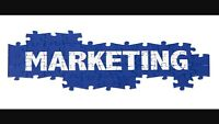Marketing person needed