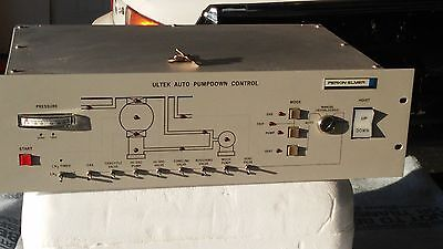 Perkin-elmer Ultek 2400 Sputter System Vacuum Auto Pumpdown Controller