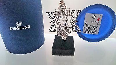 SWAROVSKI WEIHNACHTS ORNAMENT 3D STERN SILBER STAR SILVER 5135808 AP 2017 NEU (Silver Star Dekorationen)