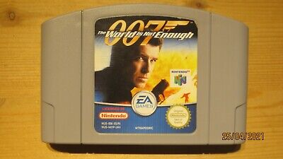 007 the World is Not Enough for Nintendo 64 N64. Cart Only. Pal