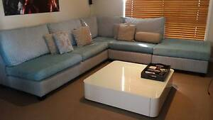 Corner Lounge with Ottoman Springfield Lakes Ipswich City Preview