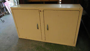 Retro 1950/60's Metal Kitchen Wall Cabinet by 'Anemone'