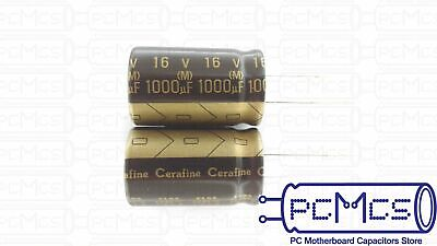 1 Pcs Of Elna For Audio Roa Cerafine 16v 1000uf Hi-fi Capacitor Black Version