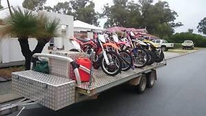 Motorcycle Quadbike Flatbed trailer Hilton Fremantle Area Preview