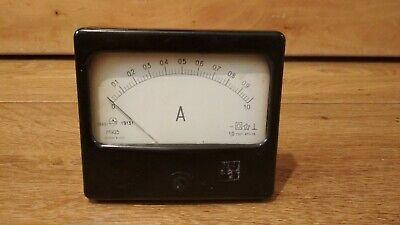 Vintage Analog Voltmeter 1981 Ussr.