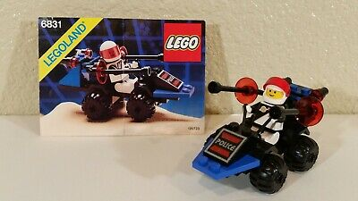 VINTAGE LEGO SPACE POLICE 1 6831 MESSAGE DECODER 100% COMPLETE & RARE!