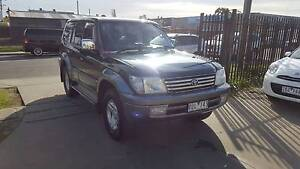 2001 Toyota Landcruiser Prado TX Wagon AUTO TURBO DIESEL Williamstown North Hobsons Bay Area Preview