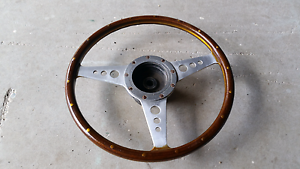 Genuine Mota-Lita Steering Wheel and Boss to suit MGB Maryborough Fraser Coast Preview