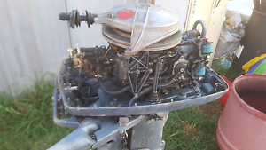 Selling 2x40hp outboards Denman Muswellbrook Area Preview