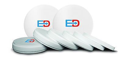 Dental Zirconia Blocksdiscs 98 Mm X 16 Mm High Strenght Elegance Premium Tm