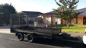 HUGE CAGED MOVING TRAILER 12X6 TANDEM Valley View Salisbury Area Preview