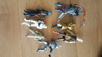 7 star wars figure bundle