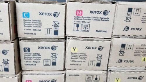 New, Genuine Xerox Versant 80 / Versant 180 press printer toner set.  Free Ship