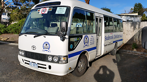 Toyota Coaster Bus Austins Ferry Glenorchy Area Preview
