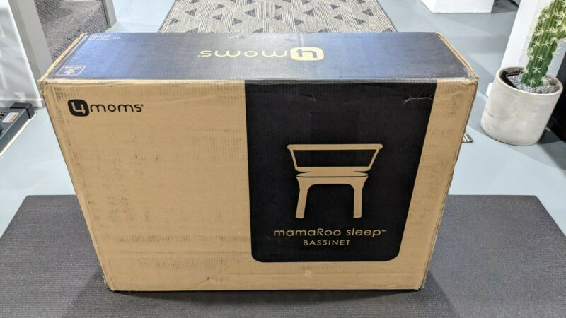 4moms Mamaroo Sleep Bassinet Calms and Soothes - White - Brand New in Box
