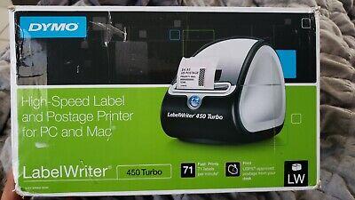 Dymo Labelwriter 450 Turbo Label Thermal Printer - Black 1752265
