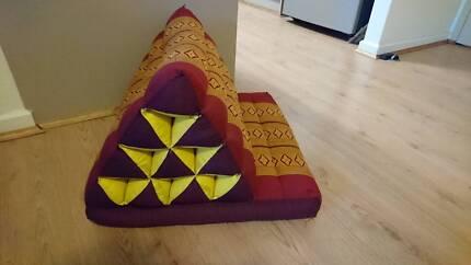 Thai triangle cushion