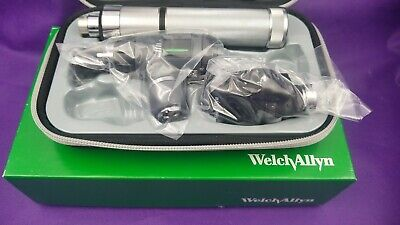 Welch Allyn 3.5v Student Diagnostic Set Plug-in Handle Macroview Otoscope - New