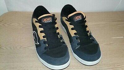 52d1c9234 ADIO RARE Vintage Skate Shoes Mens Sz 11.5 Skateboarding Classic Athletic  Sport