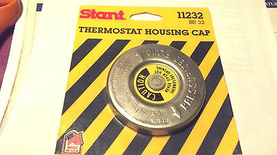 1 STANT #11232 =10232 IF BOXED,THERMOSTAT HOUSING CAP,SOME GM CARS,US MADE.3.2.