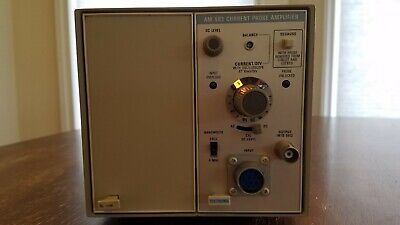Tektronix Tm502a Power Supply Mainframe With Am503 Current Probe Amplifier