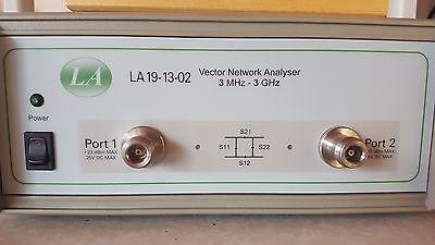 La 19-13-02 Vector Network Analyzer 3 Mhz - 3 Ghz