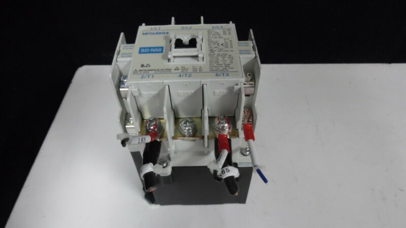 MITSUBISHI ELECTRIC SD-N50 MAGNETIC CONTACTOR 80A