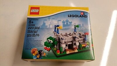 Lego Legoland Exclusive Castle Dragon Set 40306 220 pieces NEW SEALED
