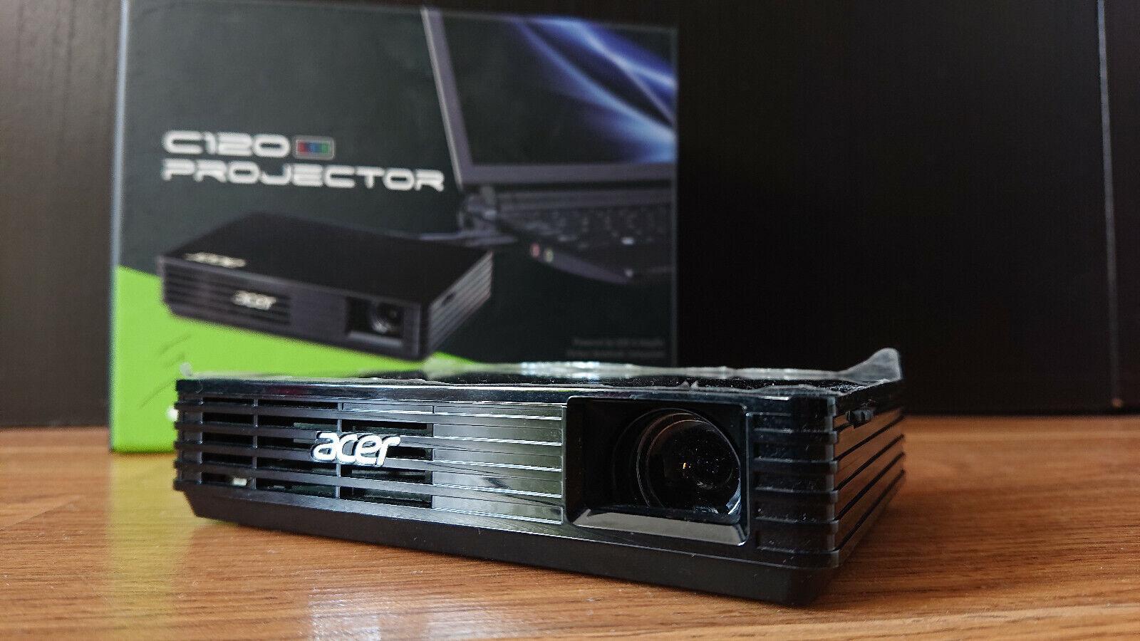 Vidéo-projecteur acer c120  dlp 854 x 480